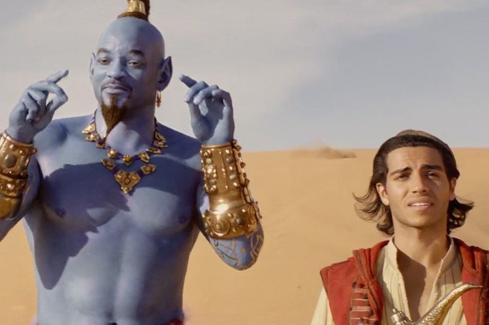 Disney revela trailer completo do live action de Aladdin