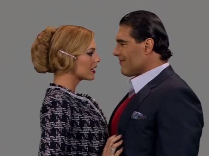 Kendra (Marjorie de Sousa) e José Ângelo (Eduardo Yáñez) em 'Amores Verdadeiros' (Sbt)