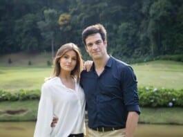 Luíza (Camila Queiroz) e Eric (Mateus Solano) em 'Pega Pega' (Globo)